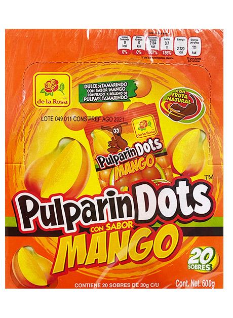 PULPARINDOTS MANGO DISP 20P/30GRS