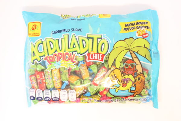 ACIDULADITO TROPICAL 100P/5GR
