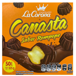 CANASTA ROMPOPE 50P/6.5G *