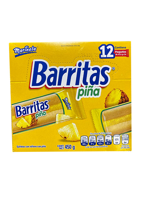BARRITAS PIÑA 12P/37.5gr