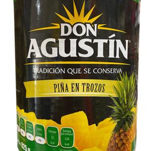 PIÑA EN TROZOS DON AGUSTIN 825GRS (M.D490GRS)