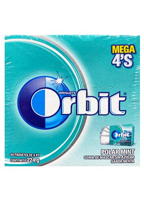 ORBIT 4S POLAR MINT 40p/5.6g