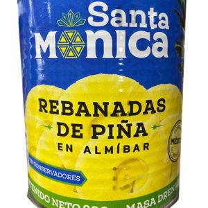 PIÑA EN REBANADAS STA MONICA 800GRS