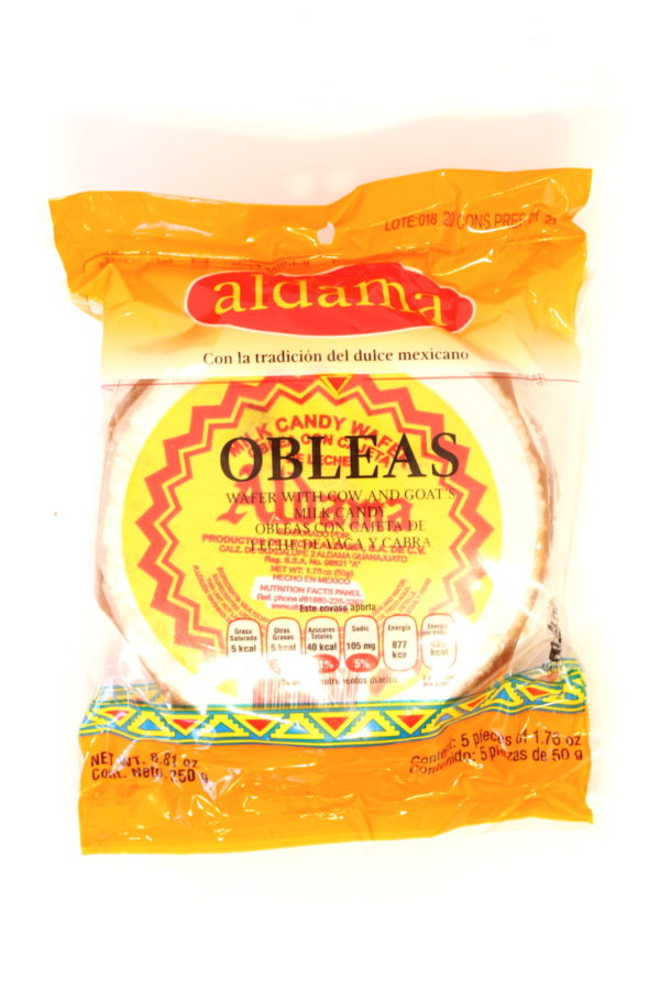 OBLEA ALDAMA MED 5P/50g